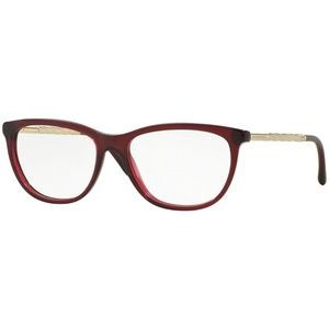 Burberry Eyeglasses Bordeaux w/Demo Lens